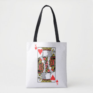 King of Hearts - Add Your Image Tote Bag