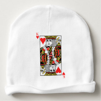 King of Hearts Baby Beanie