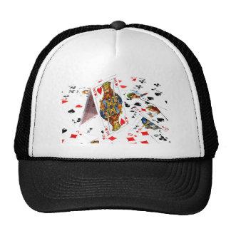 King Of Hearts Mesh Hats