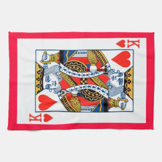 King of Hearts Kitchen Towels