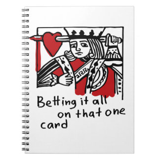 KIng of Hearts Note Book