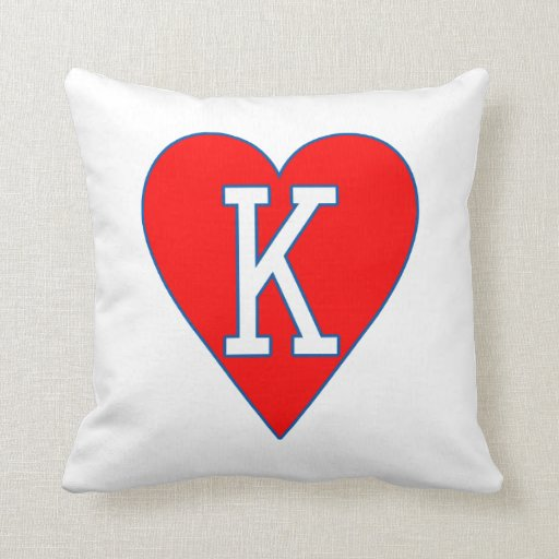 King of Hearts Pillow