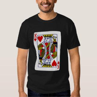 King of Hearts T Shirts