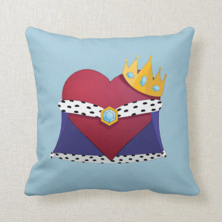 King of hearts throw cushion