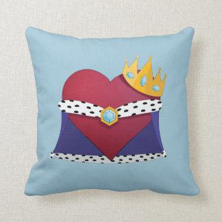 King of hearts throw cushion