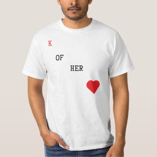 King of her Heart Playing Card T-Shirt