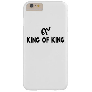 King of king 9 barely there iPhone 6 plus case