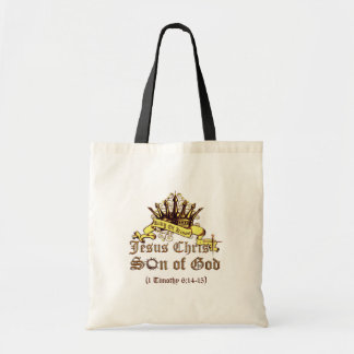 King of Kings Religious Tote Bags
