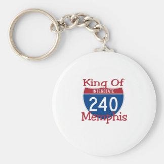King Of Memphis Key Ring