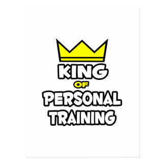 King of Personal Training Postcard