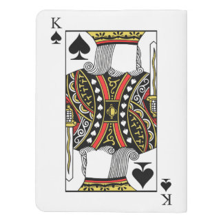 King of Spades - Add Your Image Extra Large Moleskine Notebook