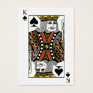 King of Spades Business Card