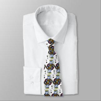 king of spades card tie