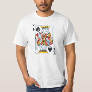 King of spades distressed/vintage style T-Shirt