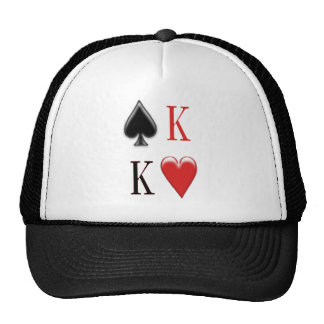 King of Spades, King of Hearts  Apparel Trucker Hats