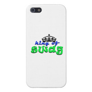king of swagg iPhone 5 cover