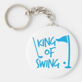 King of SWING! golf ball and golf club Key Ring
