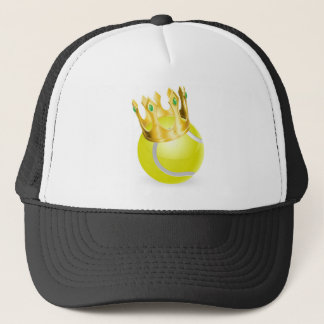 king of tennis ball crown 2012.jpg trucker hat
