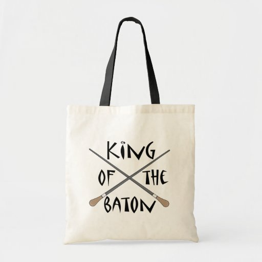 King of the Baton Conductor Gift Tote Bag