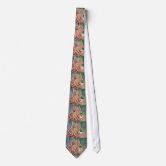 KING OF THE BEAST LION tie