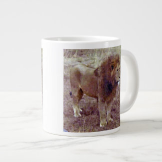 King Of The Beasts Jumbo Mug