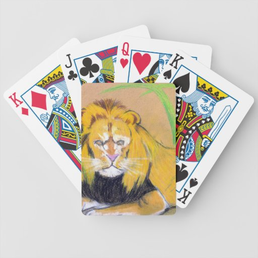 King of the Beasts Bicycle Playing Cards