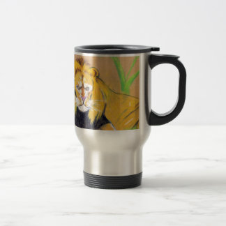 King of the Beasts Stainless Steel Travel Mug