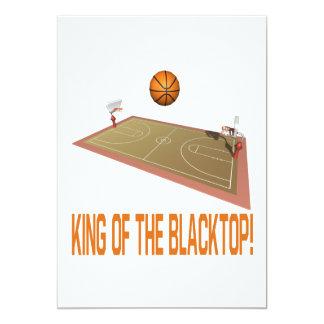 King Of The Blacktop 13 Cm X 18 Cm Invitation Card