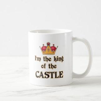 King of the Castle Basic White Mug
