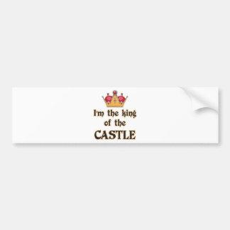 King of the Castle Bumper Sticker