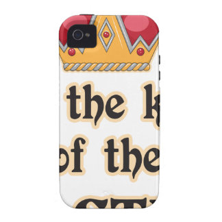 King of the Castle Vibe iPhone 4 Cover