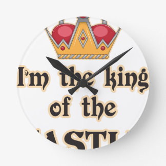 King of the Castle Wall Clocks