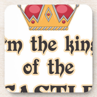 King of the Castle Beverage Coaster