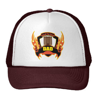 King Of The Castle Dad Fathers Day Gifts Mesh Hat
