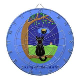 King of the Castle Dartboard