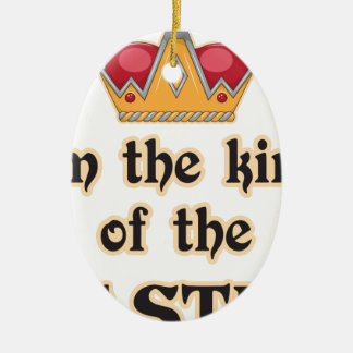 King of the Castle Christmas Tree Ornament