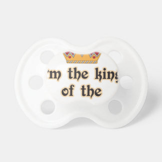 King of the Castle Baby Pacifiers