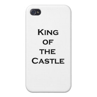 king of the castle iPhone 4/4S cover
