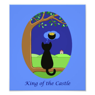 King of the Castle Photo Print