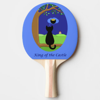 King of the Castle Ping Pong Paddle