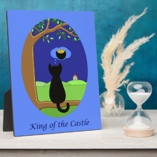 King of the Castle Plaque