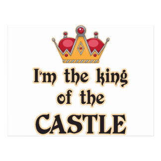 King of the Castle Postcard