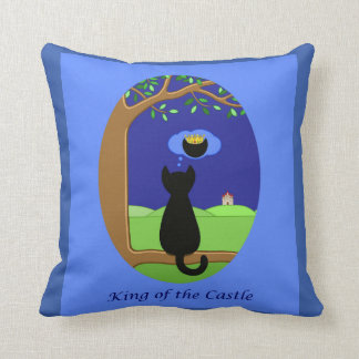 King of the Castle Reversible Cushion