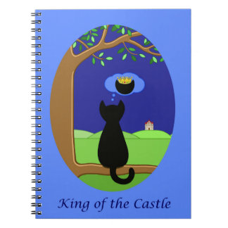 King of the Castle Spiral Notebook