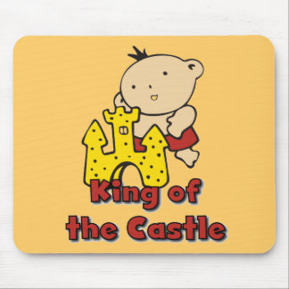 King of the Castle Tshirts and Gifts Mouse Pad