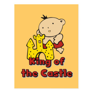 King of the Castle Tshirts and Gifts Postcard