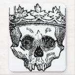 King of the Dead Skull Mousepads