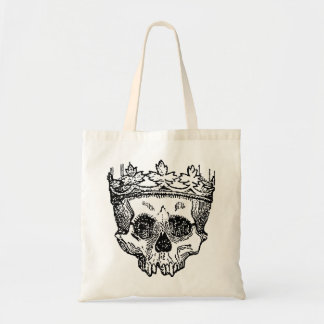 King of the Dead Skull Budget Tote Bag