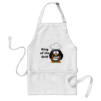 king of the grill - apron