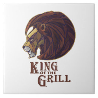 King of the Grill Ceramic Tile